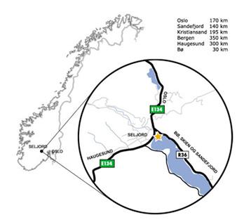 seljord kart Seljord Camping seljord kart